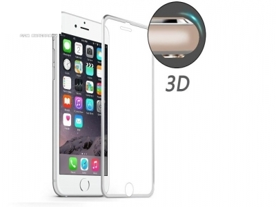 ИЗВИТ СТЪКЛЕН УДАРОУСТОЙЧИВ СКРИЙН ПРОТЕКТОР ЗА iPhone 7 4.7 HAT PRINCE 0.2mm - Silver