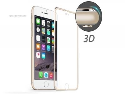 ИЗВИТ СТЪКЛЕН УДАРОУСТОЙЧИВ СКРИЙН ПРОТЕКТОР CURVED ЗА iPhone 6/6s HAT PRINCE 0.2mm - Gold