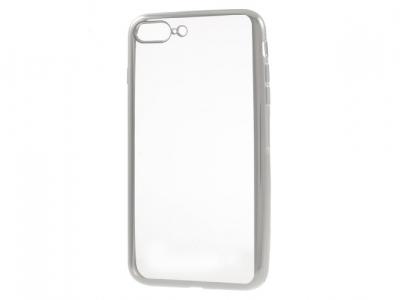 Ултра тънък  силиконов протектор за iPhone 7 Plus 5.5 Inch - Сребърен