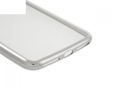 Ултра тънък  силиконов протектор за iPhone 7 Plus / 8 Plus- Сребърен