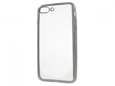 Ултра тънък  силиконов протектор за iPhone 7 Plus / 8 Plus - Сив
