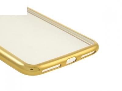 Ултра тънък  силиконов протектор за iPhone 7 Plus / 8 Plus - Злато