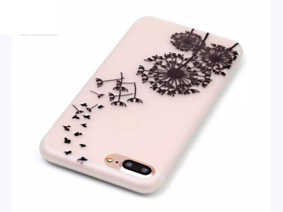 Флуоресциращ калъф за  iPhone 7 Plus / 8 Plus- Текстура - Глухарче