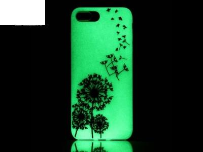 Флуоресциращ калъф за  iPhone 7 Plus 5.5 inch - Текстура - Глухарче