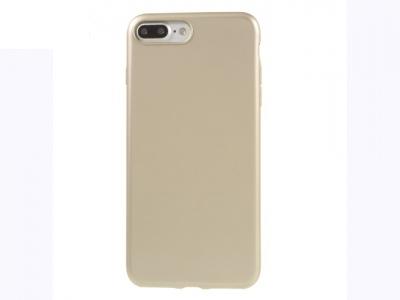 Ултра тънък силиконов протектор за iPhone 7 Plus / 8 Plus-  Златен