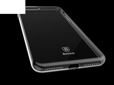 Ултра тънък силиконов протектор за iPhone 7 Plus / 8 Plus- Прозрачен