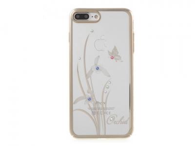 Висококачествен поликарбонатен калъф за  iPhone 7 Plus / 8 Plus- Elegant + камъни Сваровски