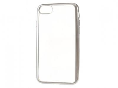 Ултра тънък  силиконов протектор за iPhone 7 4.7 Inch - Сребърен