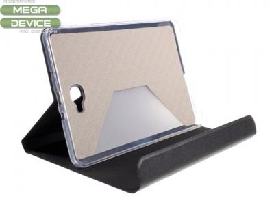 Кожен PU калъф за Samsung Galaxy Tab A 10.1 (2016) T580 T585  - Черен
