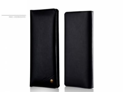 УНИВЕРСАЛЕН КОЖЕН ТЕФТЕР ЗА iPhone 7 Plus/ 6s Plus/Samsung Note7 WUW  - Black