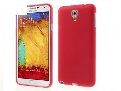 СИЛИКОНОВ ПРОТЕКТОР ЗА SAMSUNG Samsung Galaxy Note 3 Lite 2014 N750 / Neo N7500 N7505, Червен