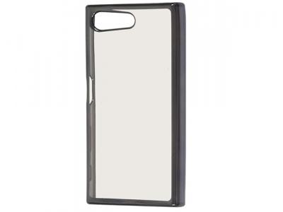 Силиконов калъф  с лайсна - CLEAR Sony Xperia X Compact - Grey