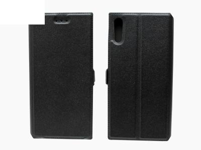 Тефтер странично отваряне - Telone BOOK POCKET Sony Xperia XZ - Черен