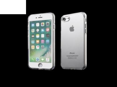 Силиков калъф 360 градуса за iPhone 7 / 8 - Transparent