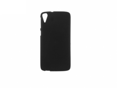 Double-sided Matte TPU Case for HTC Desire 828 - Black