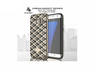 Калъф URBAN KNIGHT PC + TPU за Samsung Galaxy S7 edge G935 - Gold
