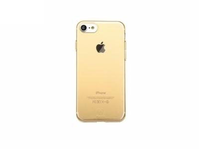 Силиконов калъф  BASEUS  за iPhone 7 / 8 - Gold