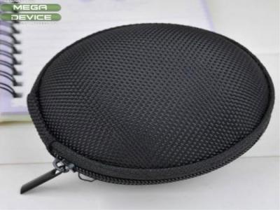 Удароустойчива кутийка за слушалки размер  - 8 x 4.8cm - Black