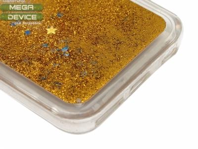 Силиконов Гръб - Iphone 6 4.7 Liquid Stars - Злато