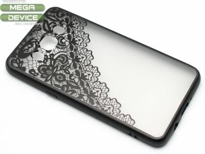 Силиконов Гръб - Samsung Galaxy J5 J510 (2016) - Модел 2 Дантела - Черна