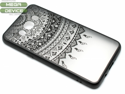 Силиконов Гръб - Samsung Galaxy J5 J510 (2016) - Модел 1 Дантела - Черен