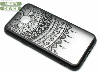 Силиконов Гръб - Samsung Galaxy J3 J320 (2016) - Модел 1 Дантела - Черна