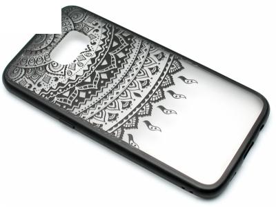 Силиконов Гръб - Samsung Galaxy S7 Edge G935 - Модел 1 Дантела - Черна