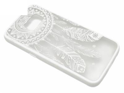 Силиконов Гръб - Samsung Galaxy S7 G930 - Dream Catcher  Бял