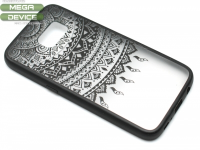 Силиконов Гръб - Samsung Galaxy S7 2016 G930 - Дантела - Черна