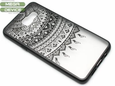 Силиконов Гръб - Samsung Galaxy A5 A510 (2016) - Дантела - Черна