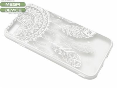 Силиконов Гръб - Iphone 7 4.7  (Dream Catcher)  Бял