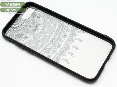 Силиконов Гръб - Iphone 7 4.7  Модел 1 Дантела - Черна