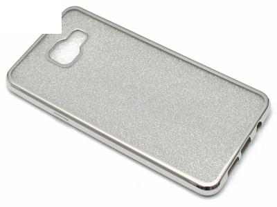 Силиконов Гръб с Брокат Samsung Galaxy A5 A510 (2016) - Elektro Silver