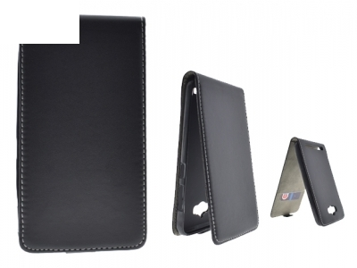Калъф Тефтер за  ASUS Zenfone 3 Max (ZC550KL) - черен