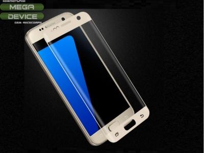 Стъклен протектор MOFI Curved за Samsung Galaxy S7 G930 - Gold