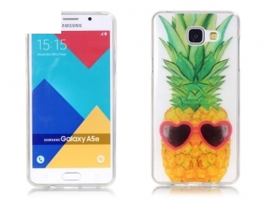 Силиконов калъф за  Samsung A5 2016 SM-A510F, Ананас