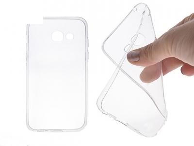 Силикон Ултра Слим 0.5мм - Samsung Galaxy A3 2017 (A320Y) Transparent Relef