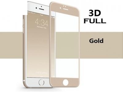 Стъклен протектор 3D Full - IPhone 7 / 8, Златист