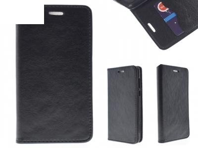 Калъф Тефтер Magnet Book Pocket - Huawei Honor 8  Black