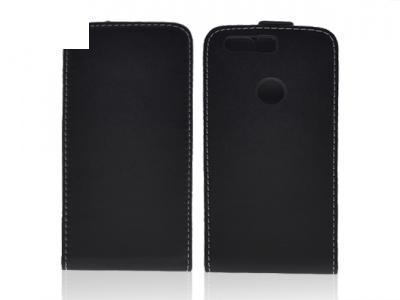 Калъф тефтер за  Huawei Honor 8 Черен