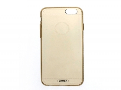 Силиконов гръб за Iphone 7 / 8 - тъмно злато