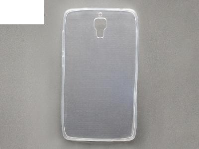 Силиконов гръб ултра тънък за XIOMI MI4 - прозрачен