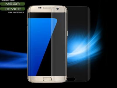 Извит Стъклен протектор Curved за Samsung Galaxy S7 edge G935 Прозрачен