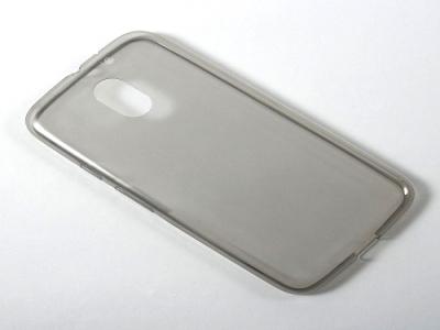 Силиконов протектор Motorola Moto E3 - Grey