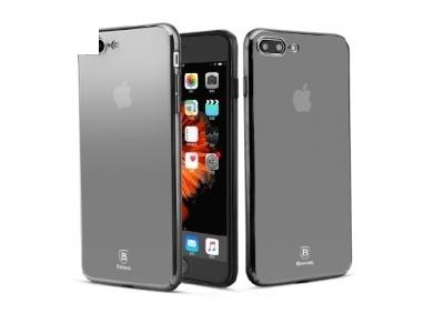 Твърд гръб PC със огледално виждане - Iphone 7 Plus 5.5 - Mirror Black