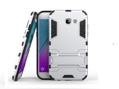 Твърд гръб с TPU хибриден гръб за Samsung Galaxy A5 2017 - Silver
