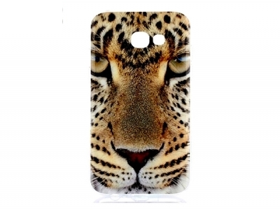 Силиконов гръб за Samsung Galaxy A3 (2017) - леопард