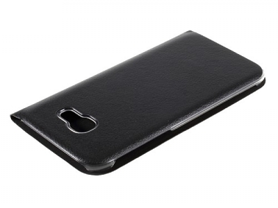 Калъф тефтер за  Samsung Galaxy A3 (2017) - черен