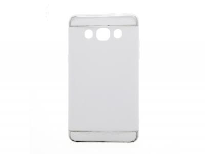Калъф гръб - PVC 3 in1 - Samsung Galaxy J5 (2016) J510 - бял