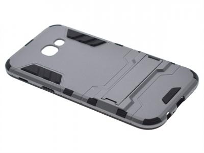 Пластмасов гръб със силикон за Samsung Galaxy A5 2017 Сив